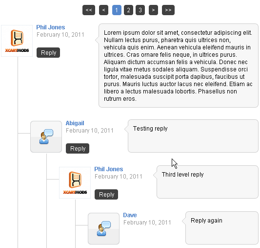 X-Cart Smart Comments Chat System