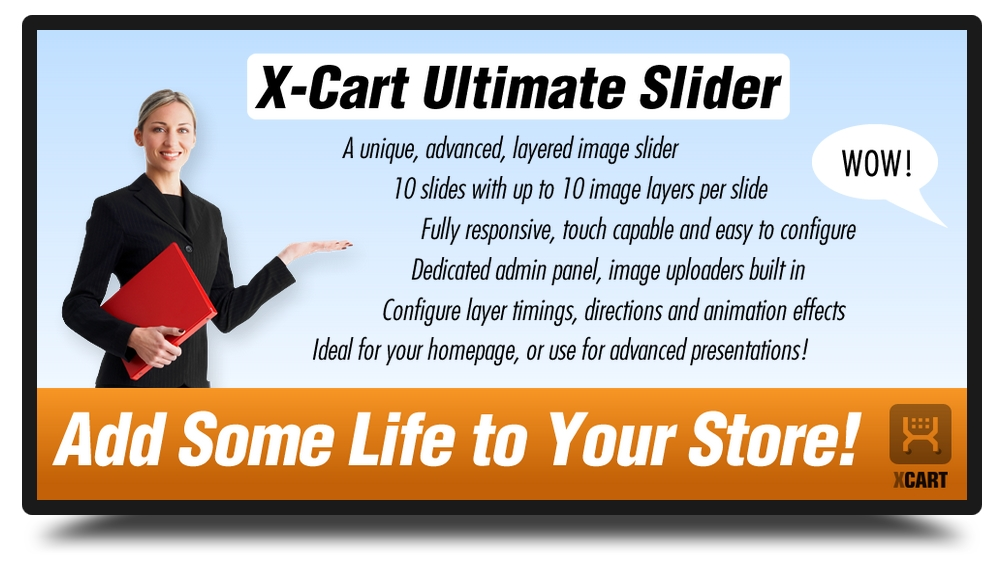 X-Cart Ultimate Slider